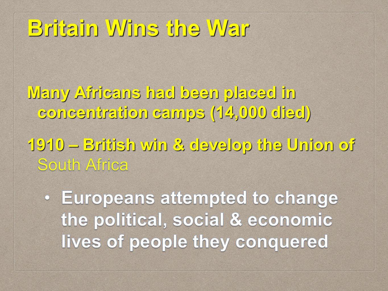 Britain Wins the War