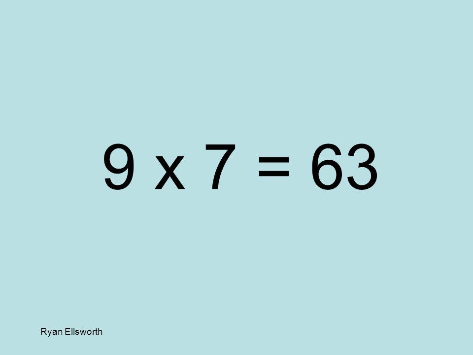 Ryan Ellsworth 5 x 5 = 25