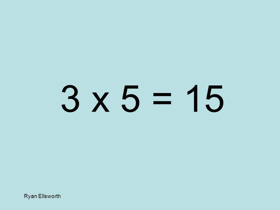 Ryan Ellsworth 9 x 7 = 63