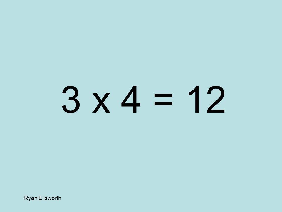 Ryan Ellsworth 2 x 8 = 16