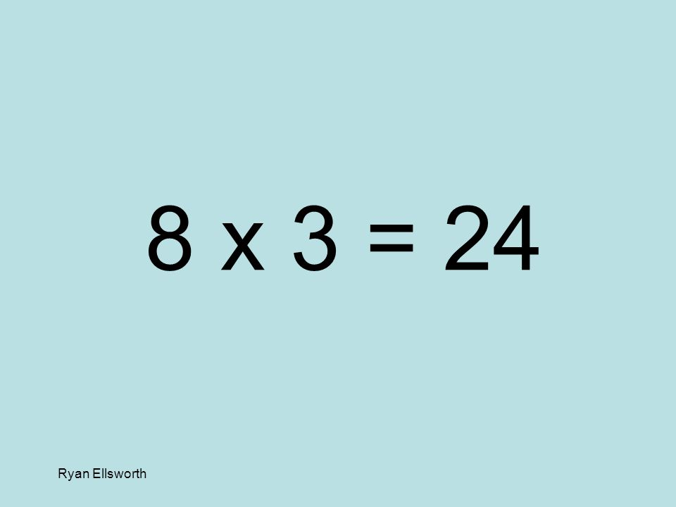 Ryan Ellsworth 2 x 2 = 4