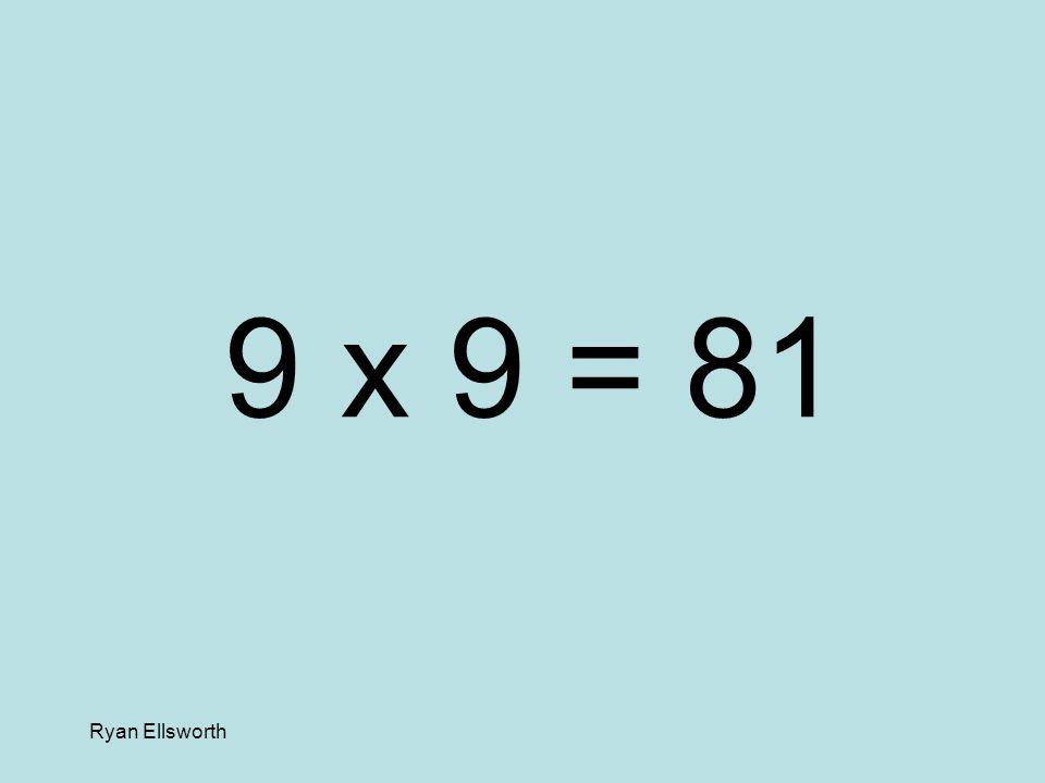 Ryan Ellsworth 8 x 3 = 24