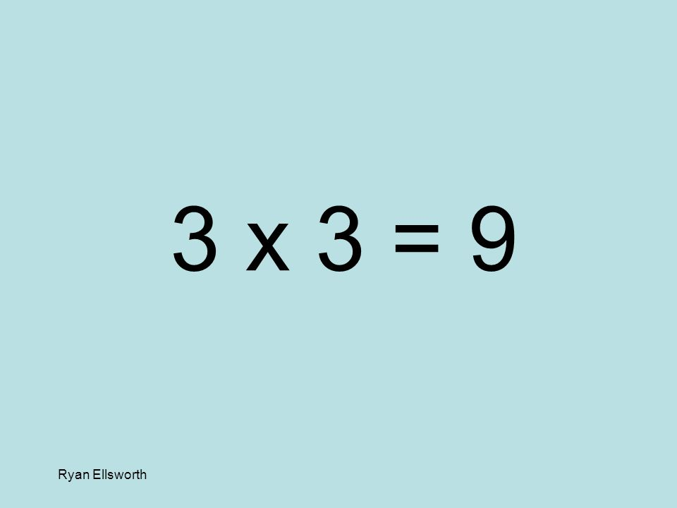 Ryan Ellsworth 5 x 6 = 30