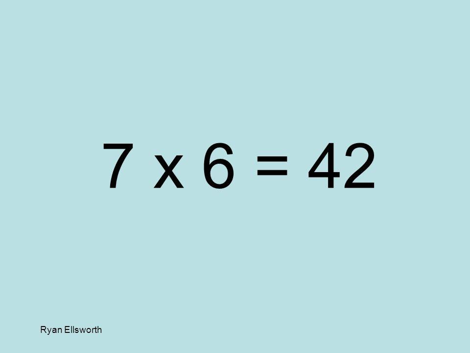 Ryan Ellsworth 3 x 9 = 27