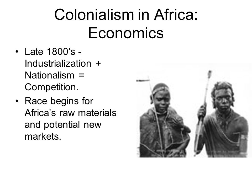 Scramble for Africa cont.