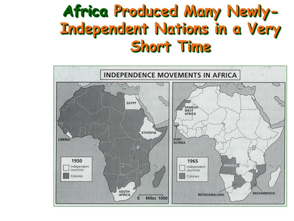 Decolonization of Asia & Africa Changed the Makeup of the UN