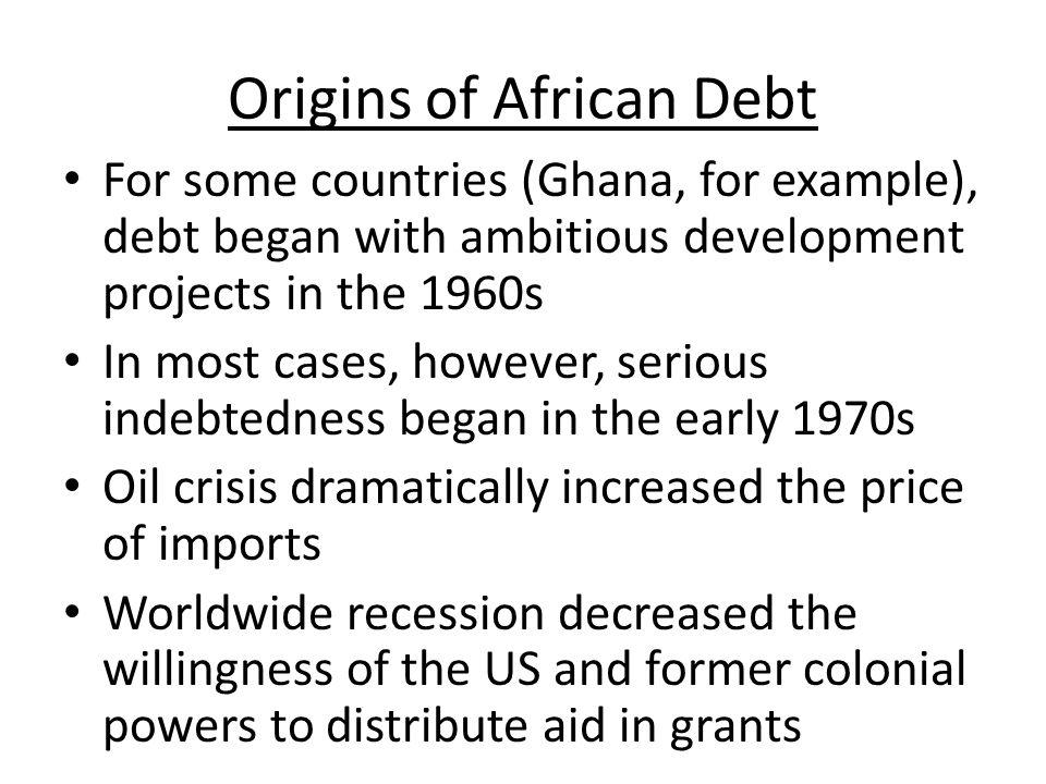 Debt and Structural Adjustment