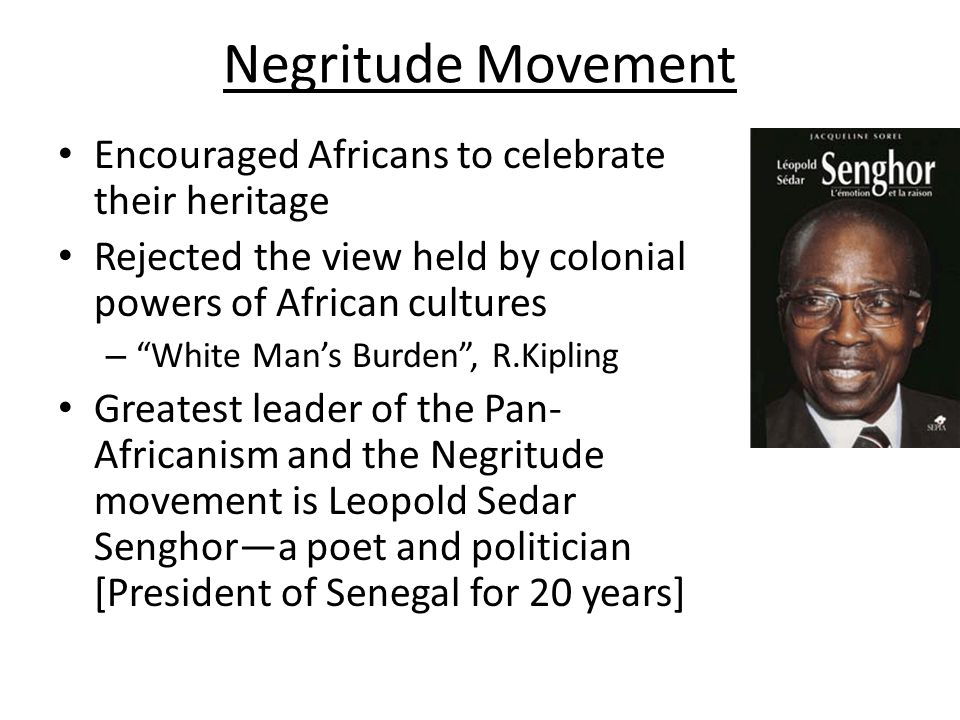 Pan - Africanism Pan – Africanism - movement which sought to unify native Africans and those of African heritage into a global African community .