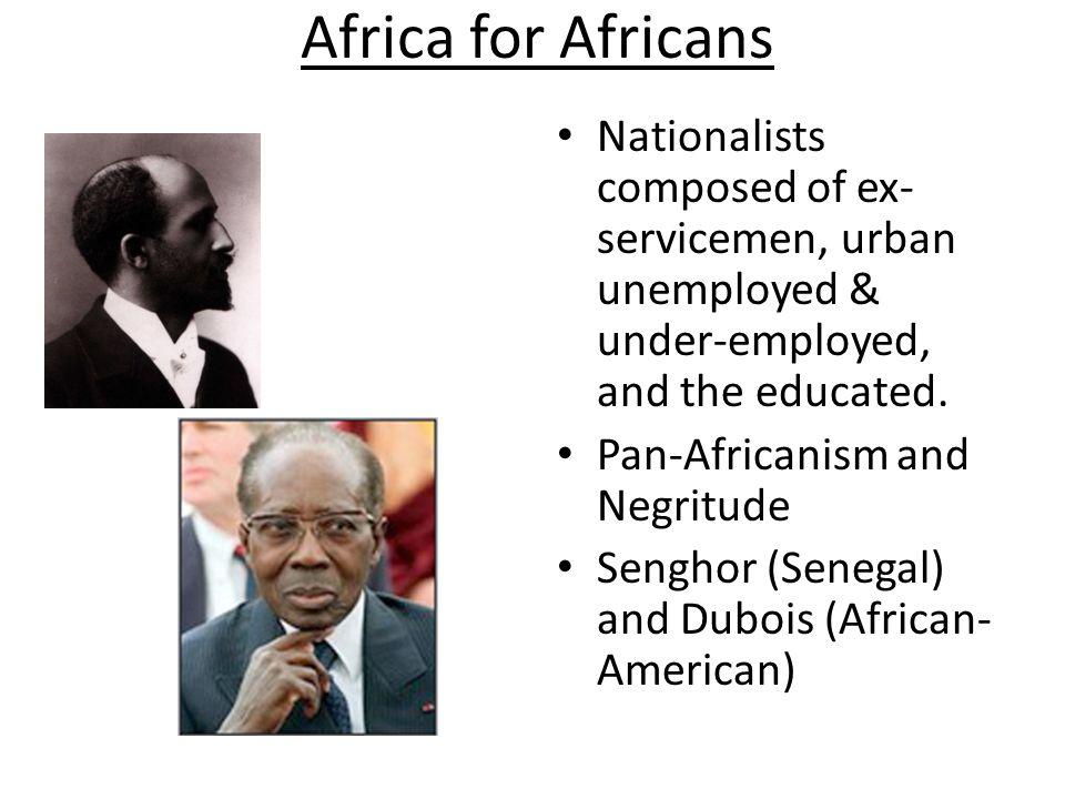 Leopold Sedar Senghor Western educated Francophone intellectual from Senegal Poet who became first president of Senegal.