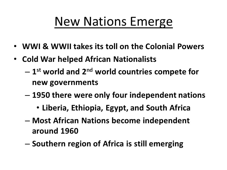 Africa for Africans Nationalists composed of ex- servicemen, urban unemployed & under-employed, and the educated.