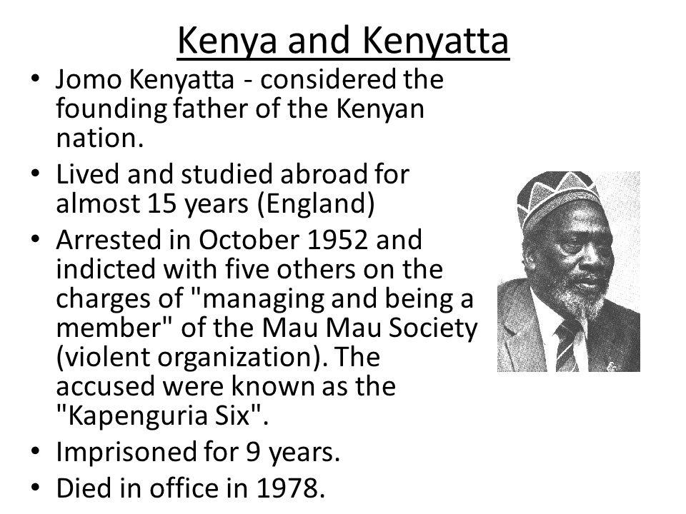 Kenya Kenyans thought the British had taken land unfairly.