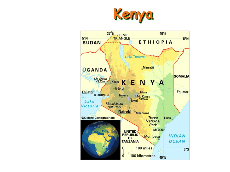 Jomo Kenyatta - considered the founding father of the Kenyan nation.