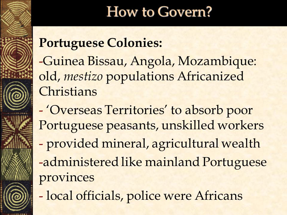 How to Govern.