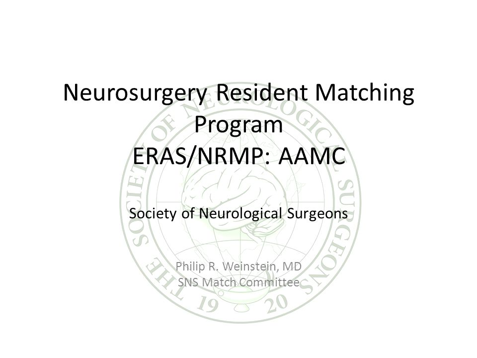 Neurosurgery Program Directors Match Survey- 2009 Response rate: 60% (58/99) Easy Difficult Data download 91% 9% System use overall 93% 7% Rank list entry 100% ---- Help Desk 100% ---- Compare SFM 94% 4%