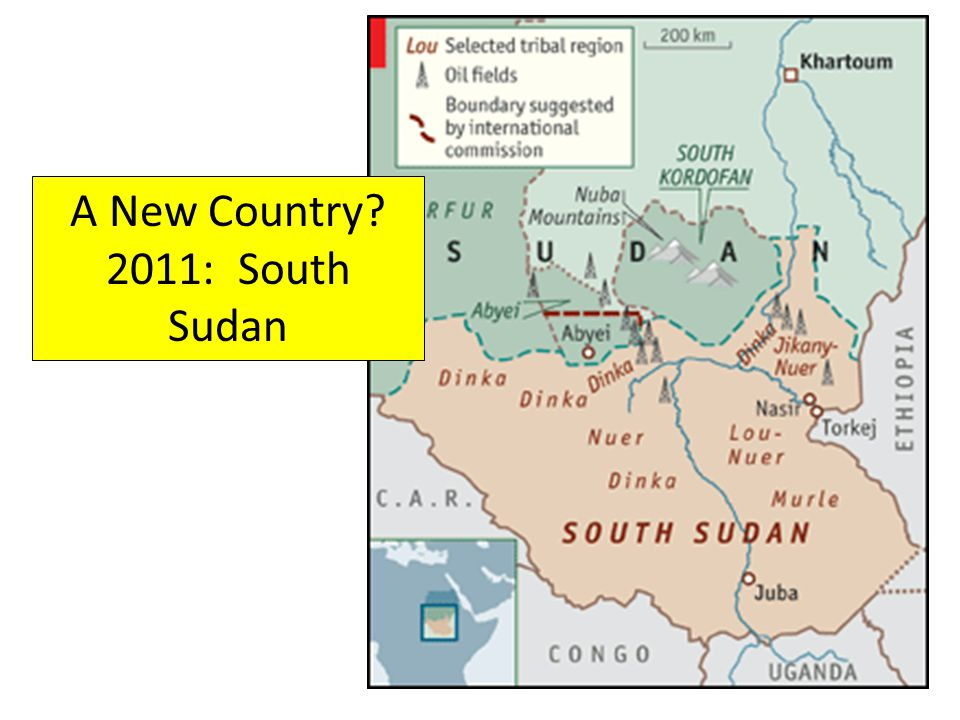 A New Country? 2011: South Sudan