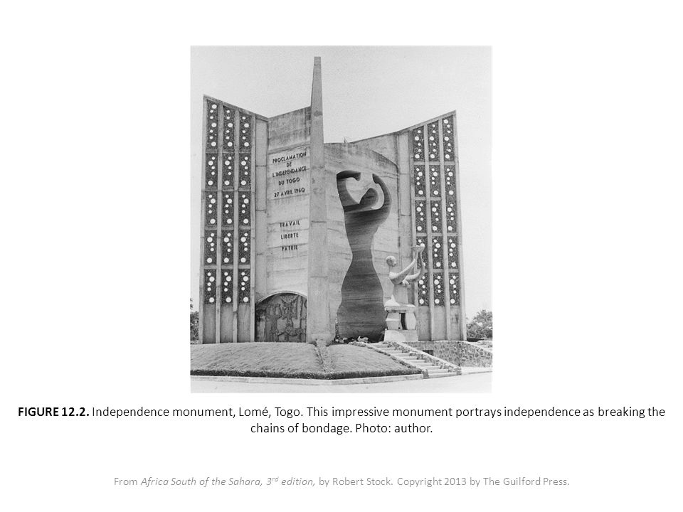 FIGURE 12.2. Independence monument, Lomé, Togo.