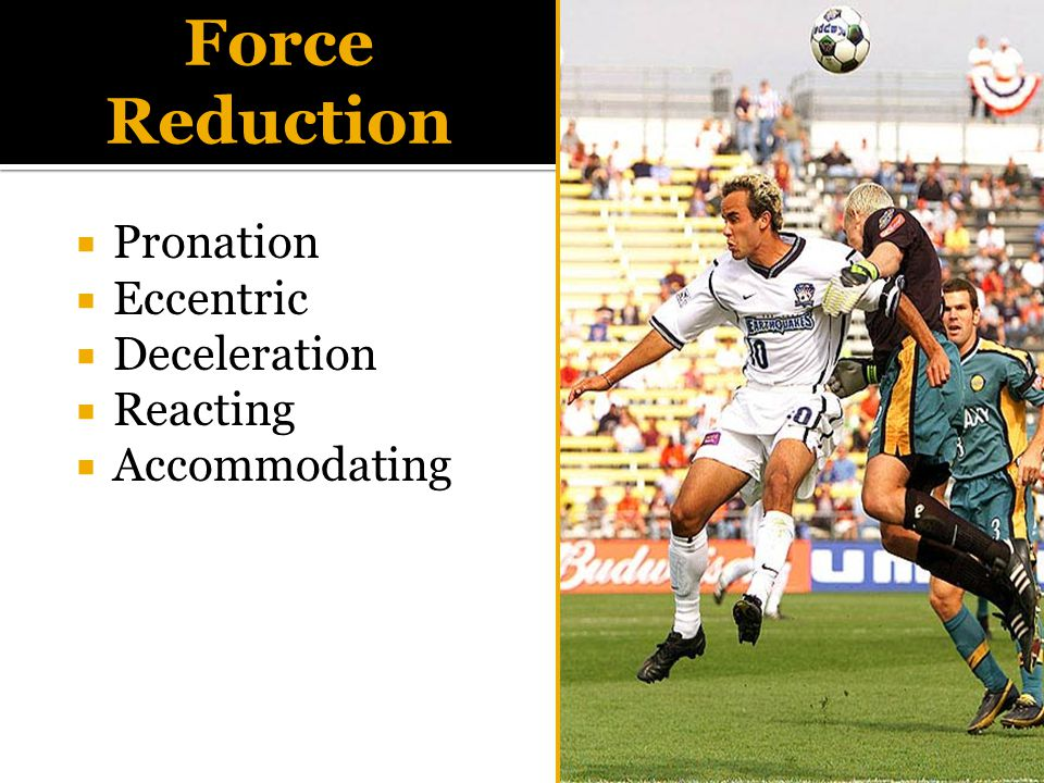  Pronation  Eccentric  Deceleration  Reacting  Accommodating Force Reduction