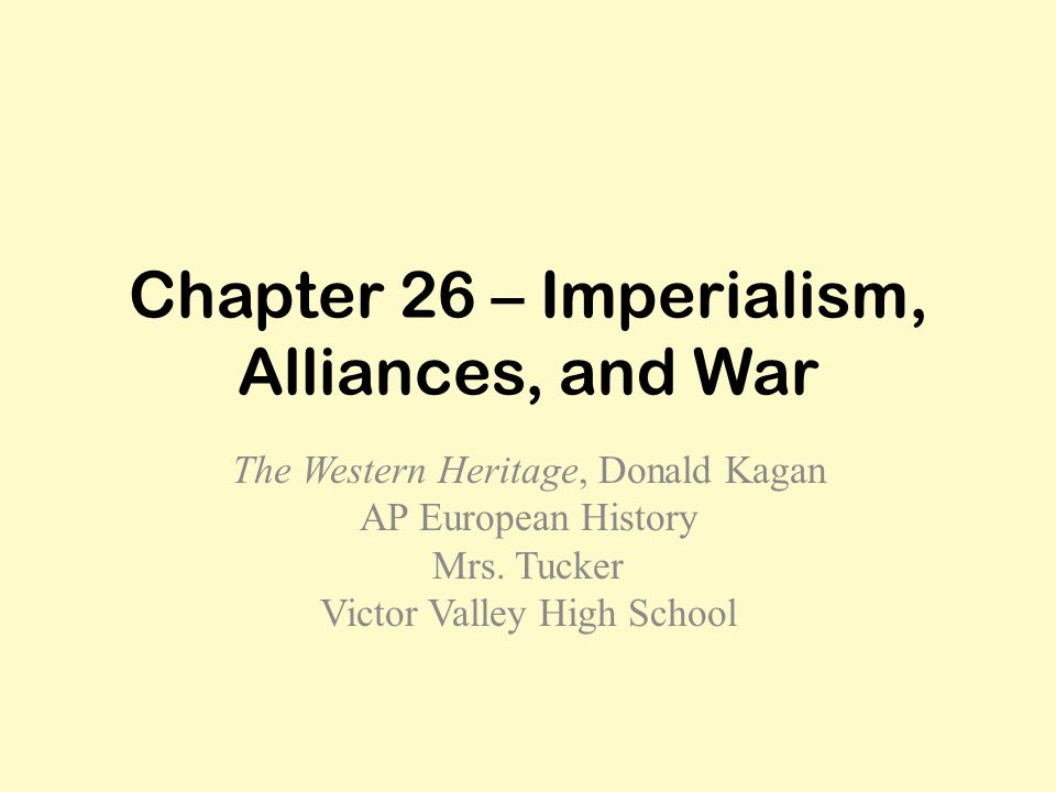 Overview The economic, strategic, and cultural forces driving the New Imperialism.