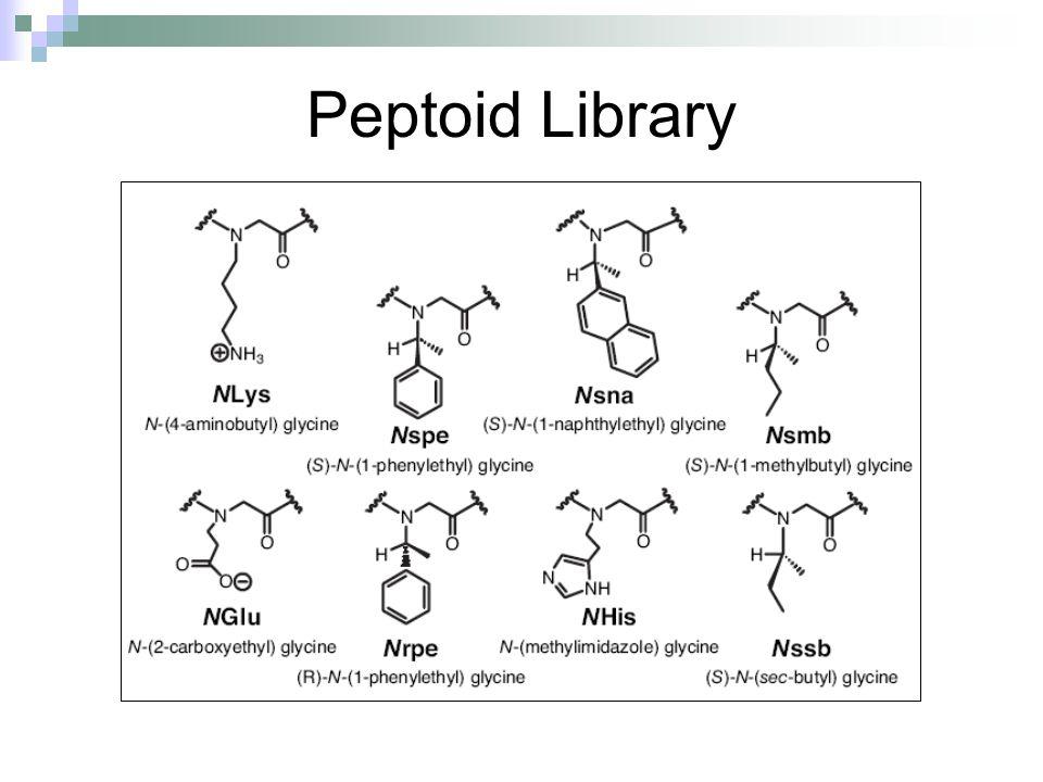 Peptoid Library