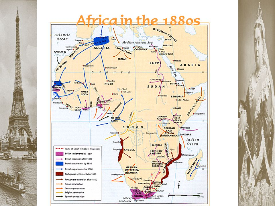 Africa in the 1880s