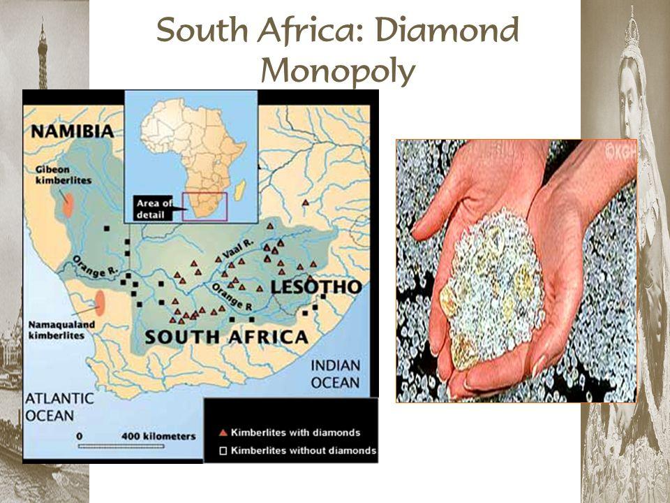 South Africa: Diamond Monopoly