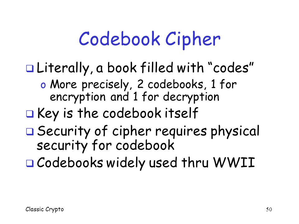 Classic Crypto 49 VENONA Decrypt (1944) [C% Ruth] learned that her husband [v] was called up by the army but he was not sent to the front. He is a mec