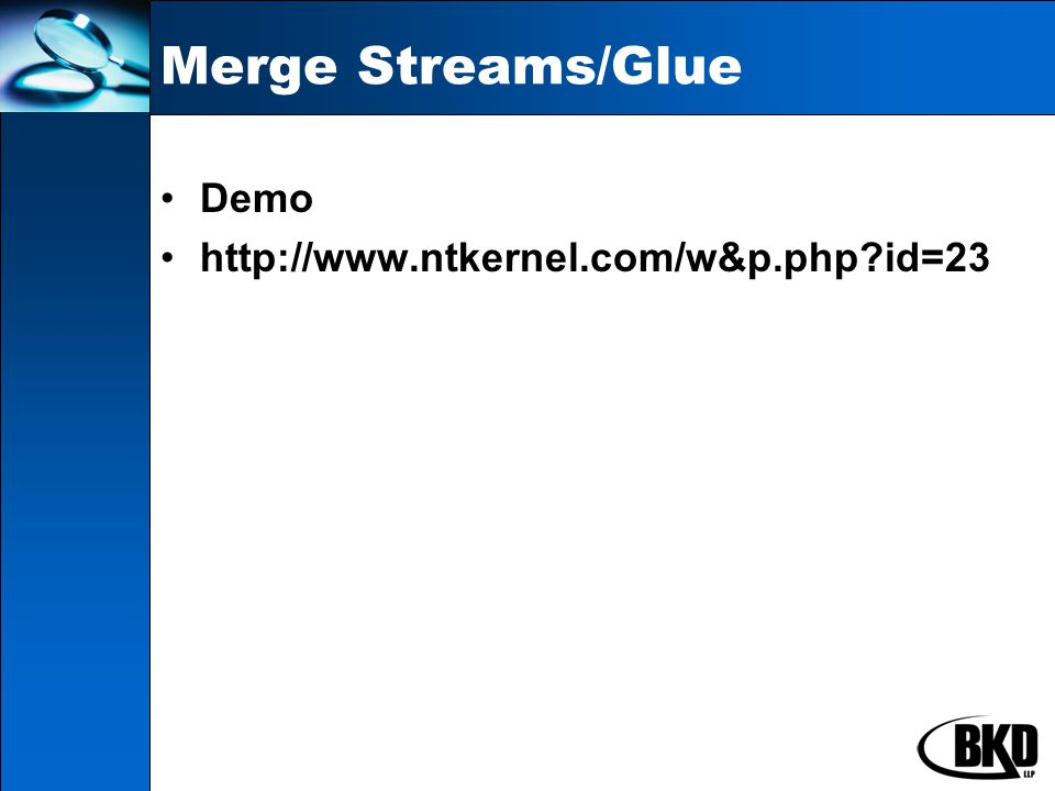 Demo http://www.ntkernel.com/w&p.php id=23