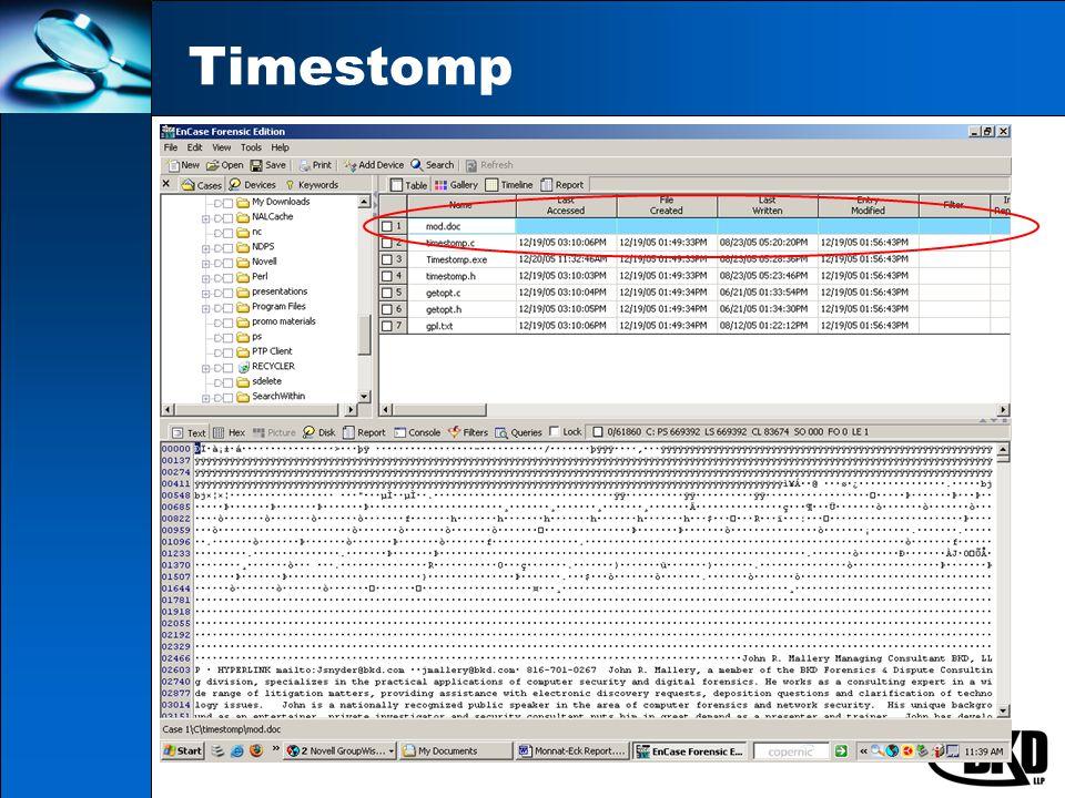 Timestomp