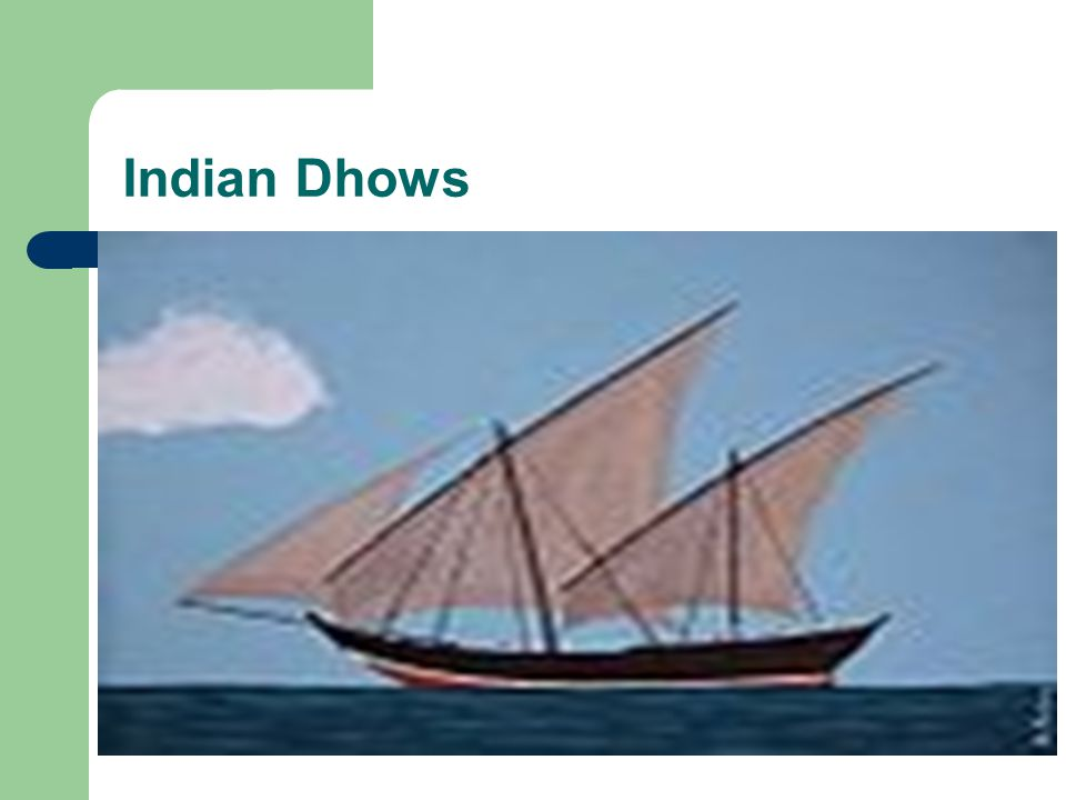 Indian Dhows