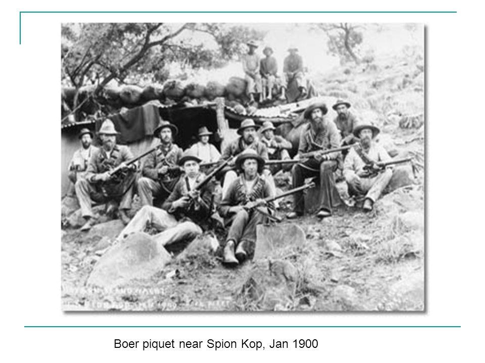 Boer piquet near Spion Kop, Jan 1900