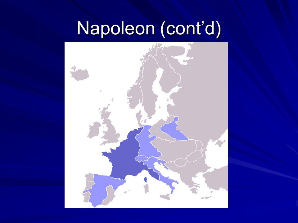 Napoleon (cont'd)