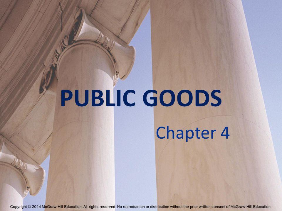 PUBLIC GOODS Chapter 4