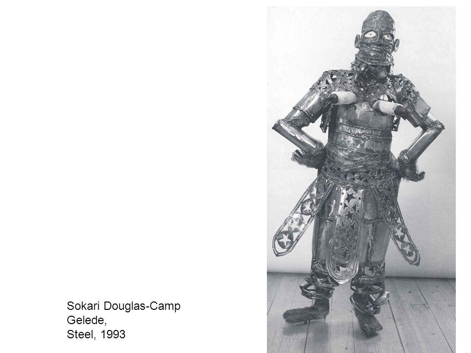 Sokari Douglas-Camp Gelede, Steel, 1993