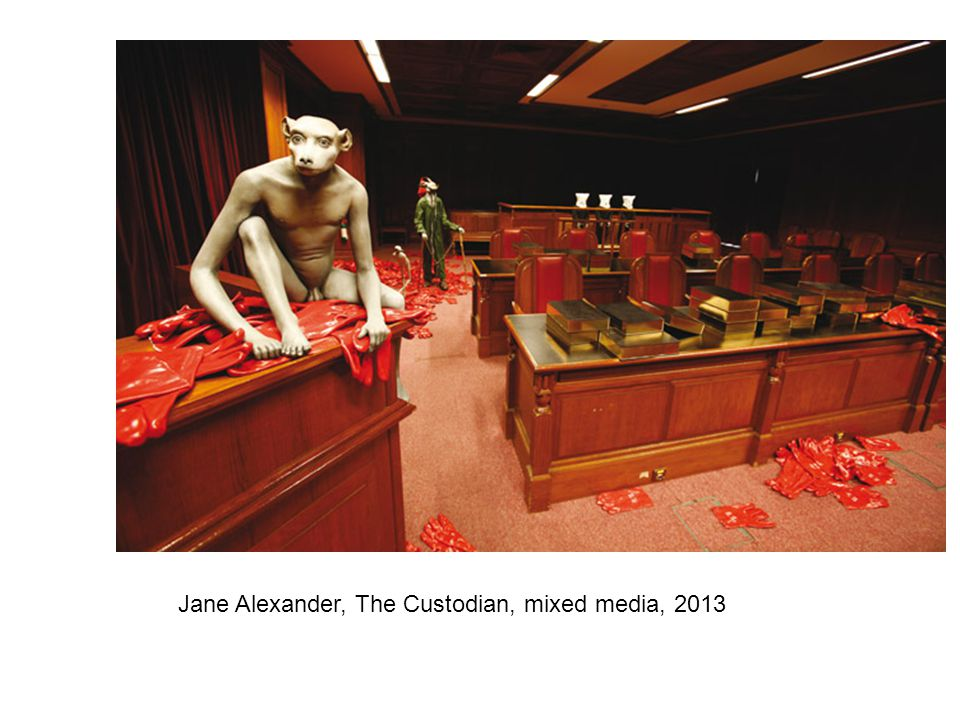 Jane Alexander, The Custodian, mixed media, 2013
