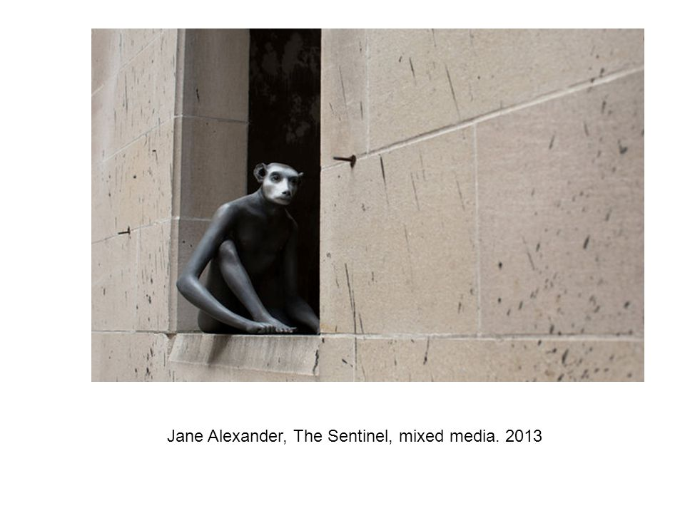 Jane Alexander, The Sentinel, mixed media. 2013