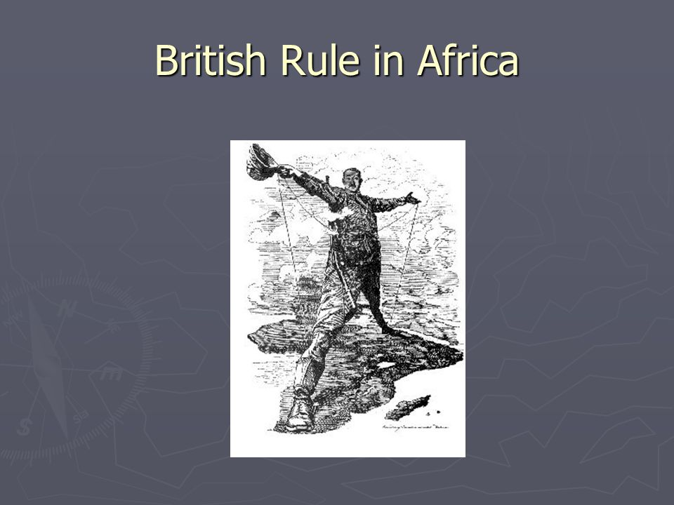 British Rule in Africa