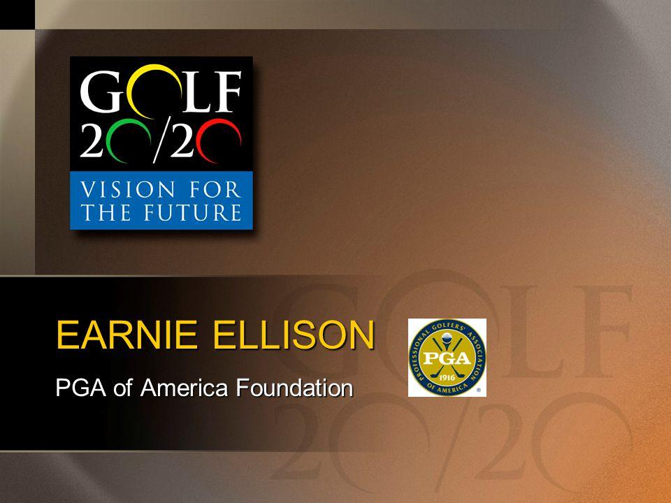 EARNIE ELLISON PGA of America Foundation