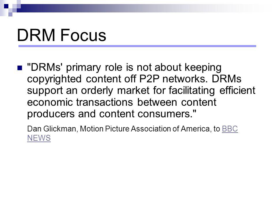 DRM Focus