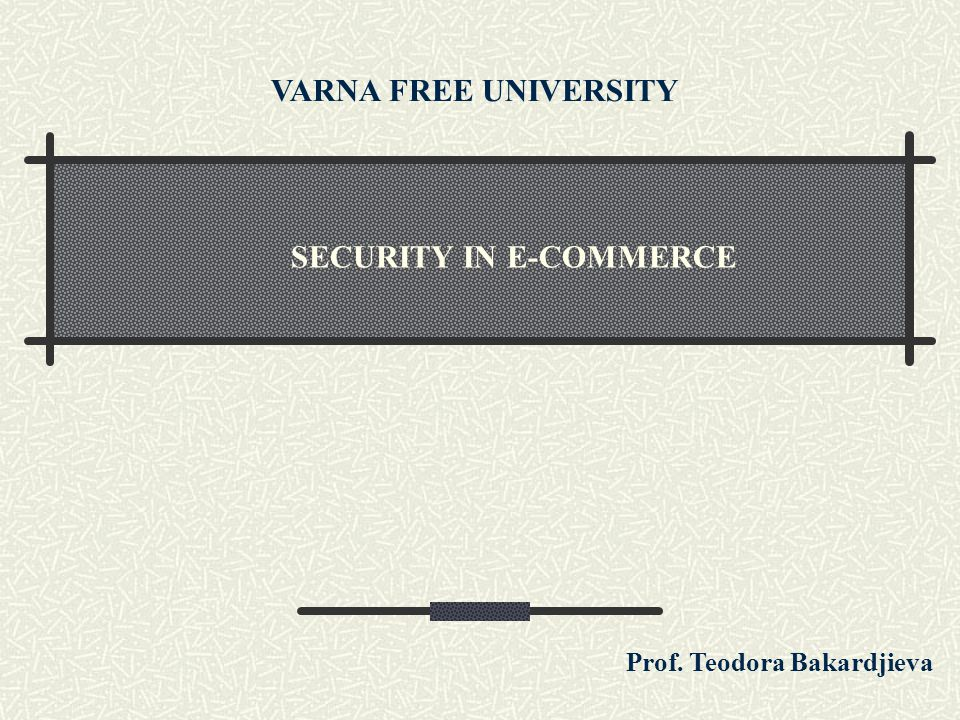Secure Electronic Transactions (cont.) SET provides the special security needs of electronic commerce with the followings: Privacy of payment data and confidentiality of of order information transaction.