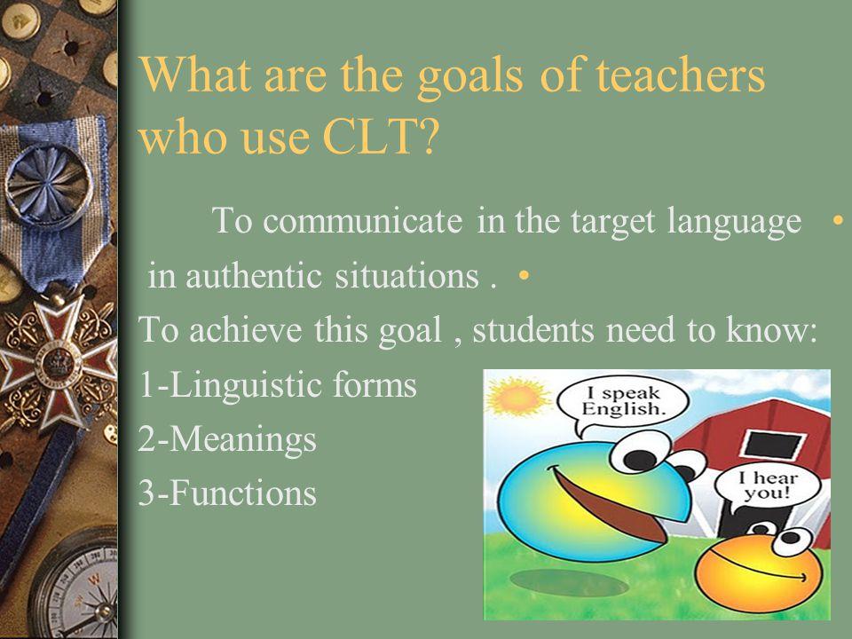 Communicative Language Teaching (CLT) By Zainab Aidroos EDU507