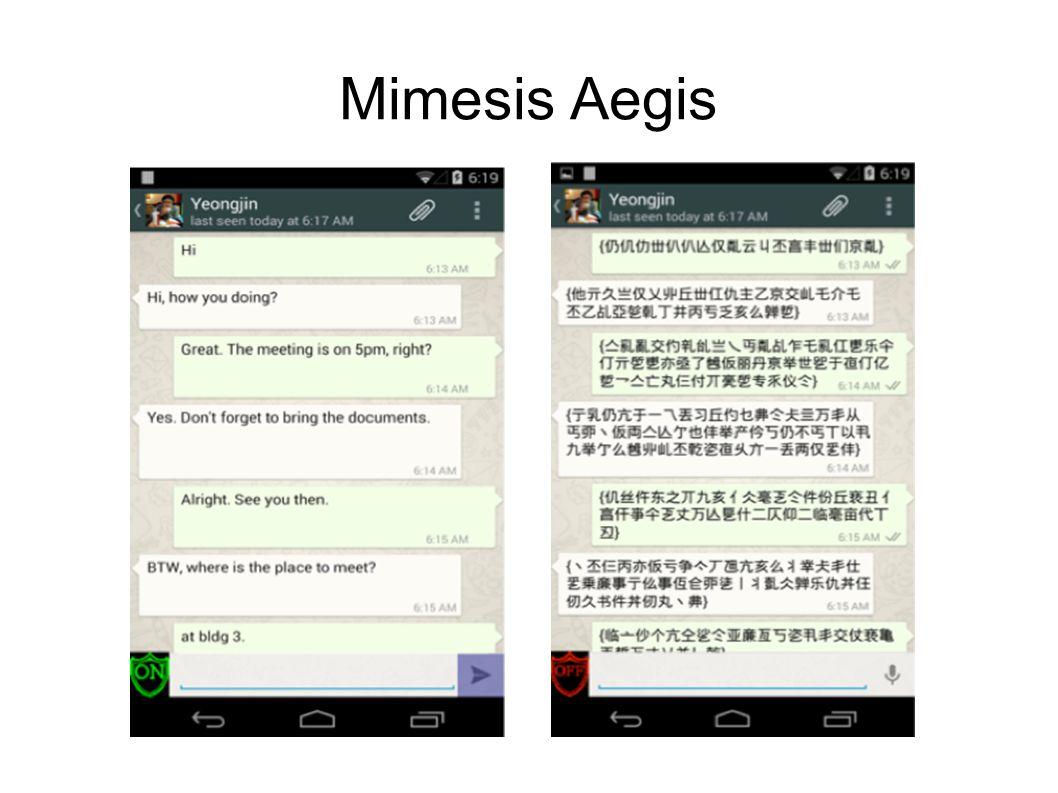 Mimesis Aegis