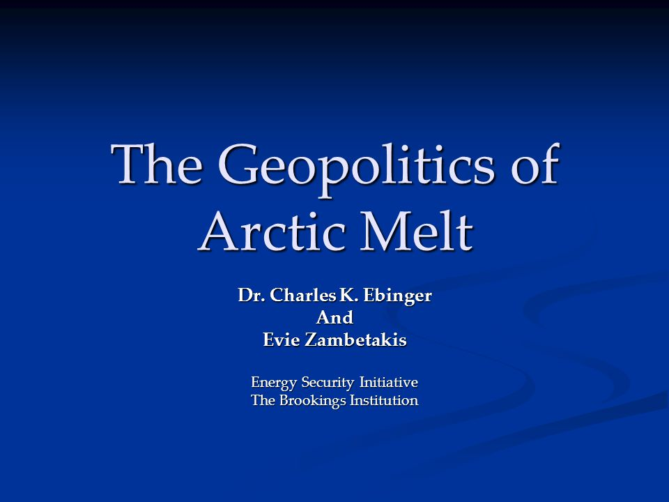 When would Arctic E&P be attractive.