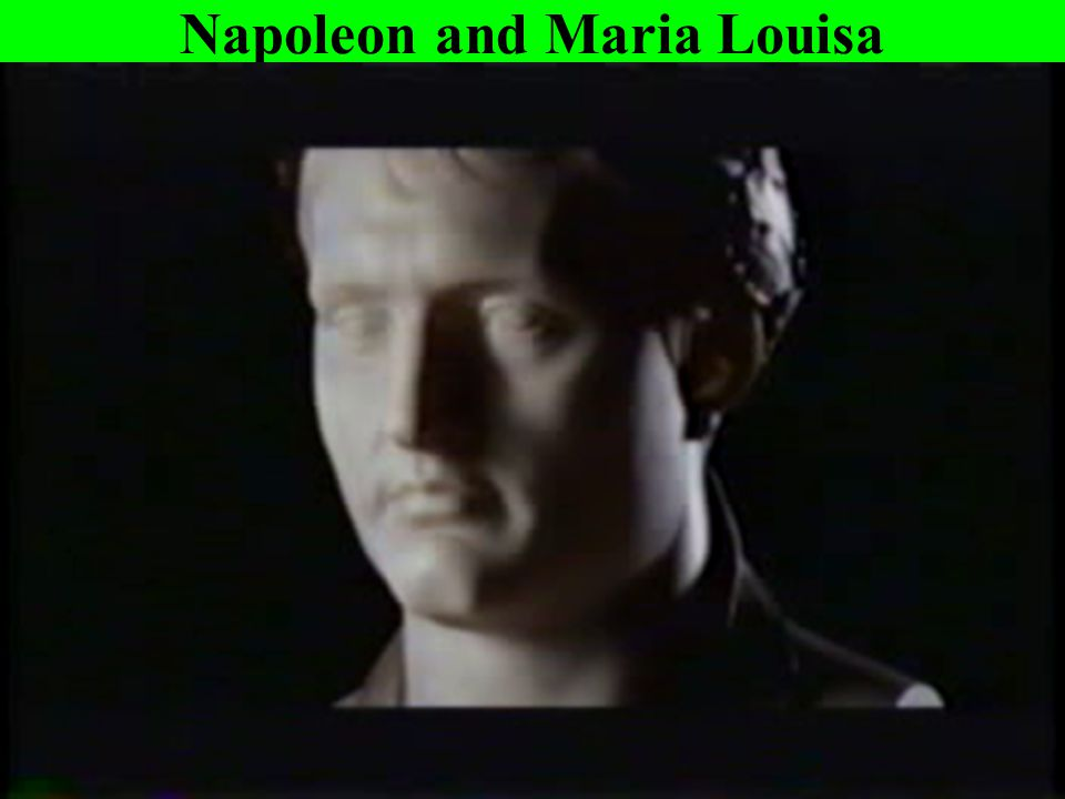 Napoleon and Maria Louisa