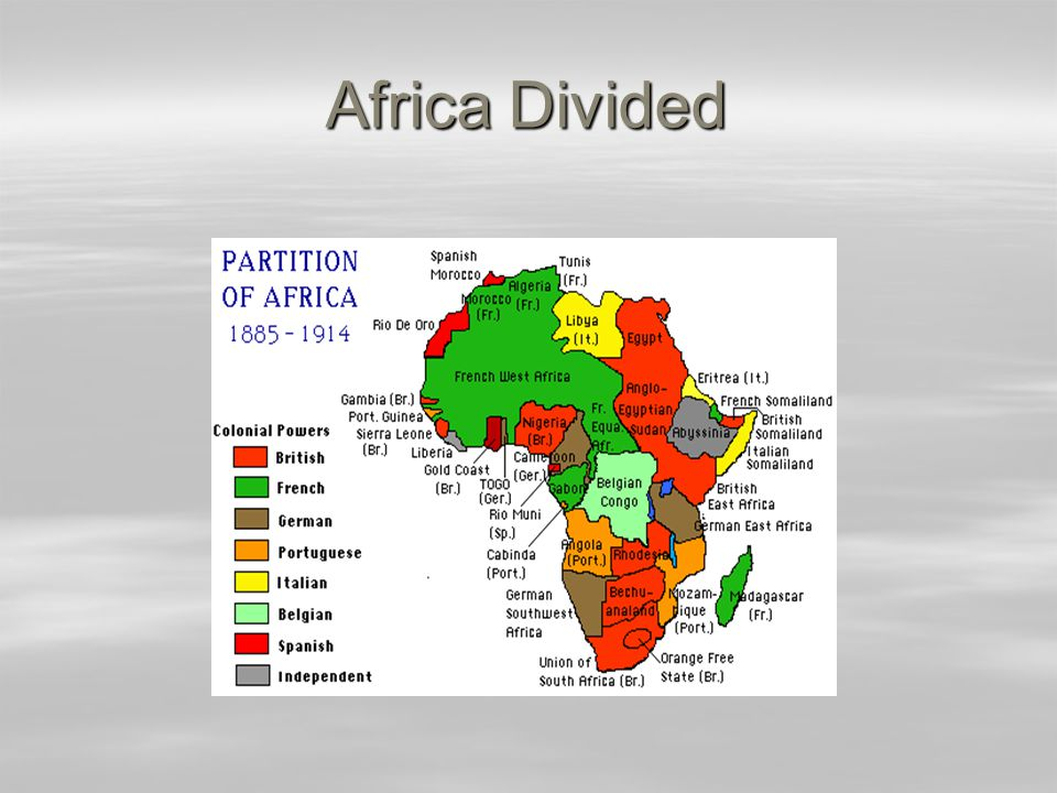 Africa Divided