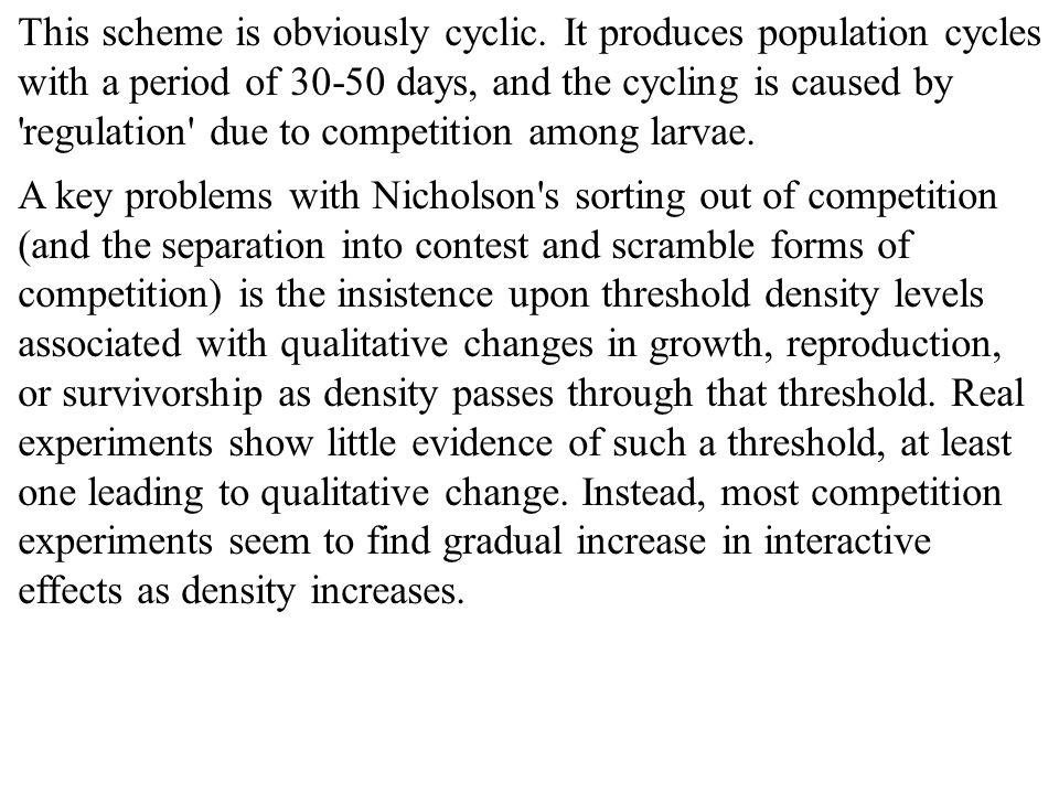 This scheme is obviously cyclic.