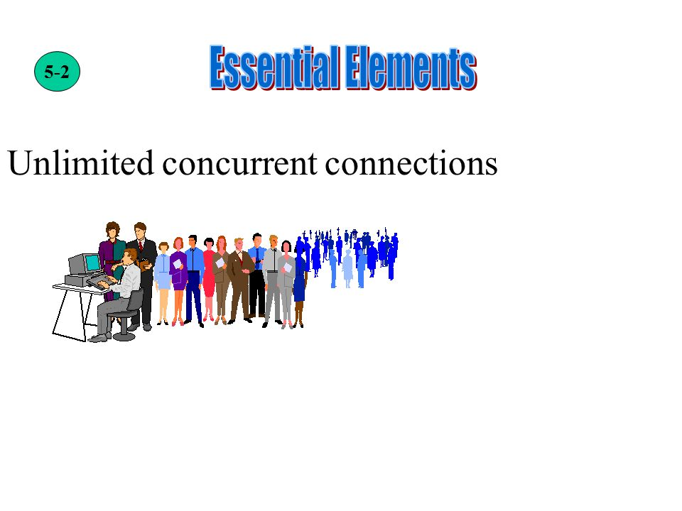 Unlimited concurrent connections 5-2