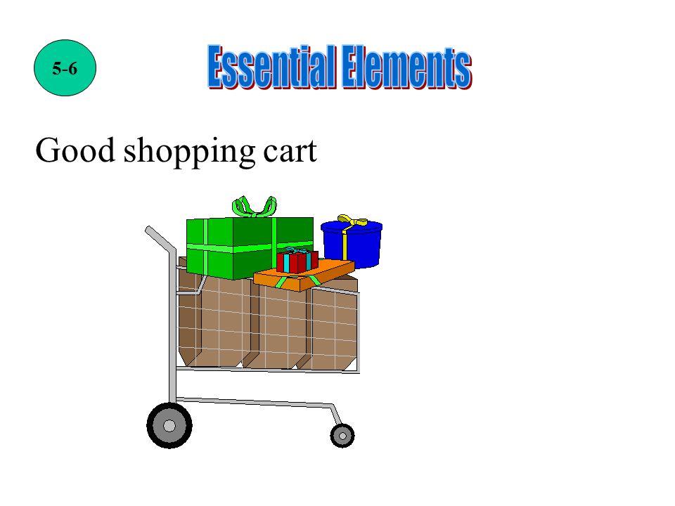 Good shopping cart 5-6