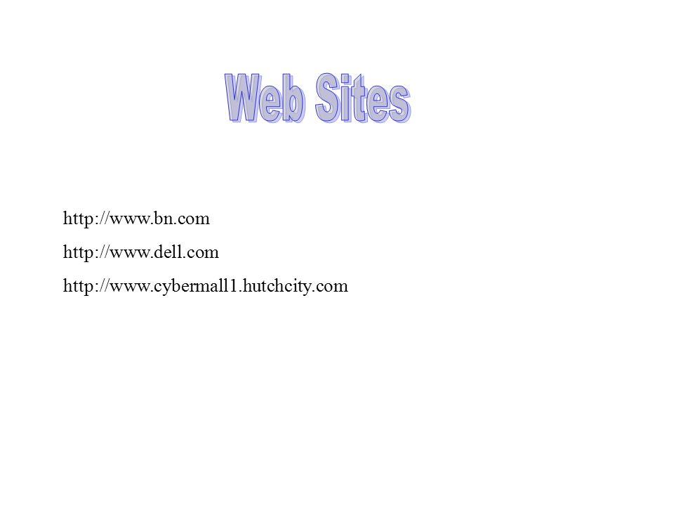 http://www.bn.com http://www.dell.com http://www.cybermall1.hutchcity.com