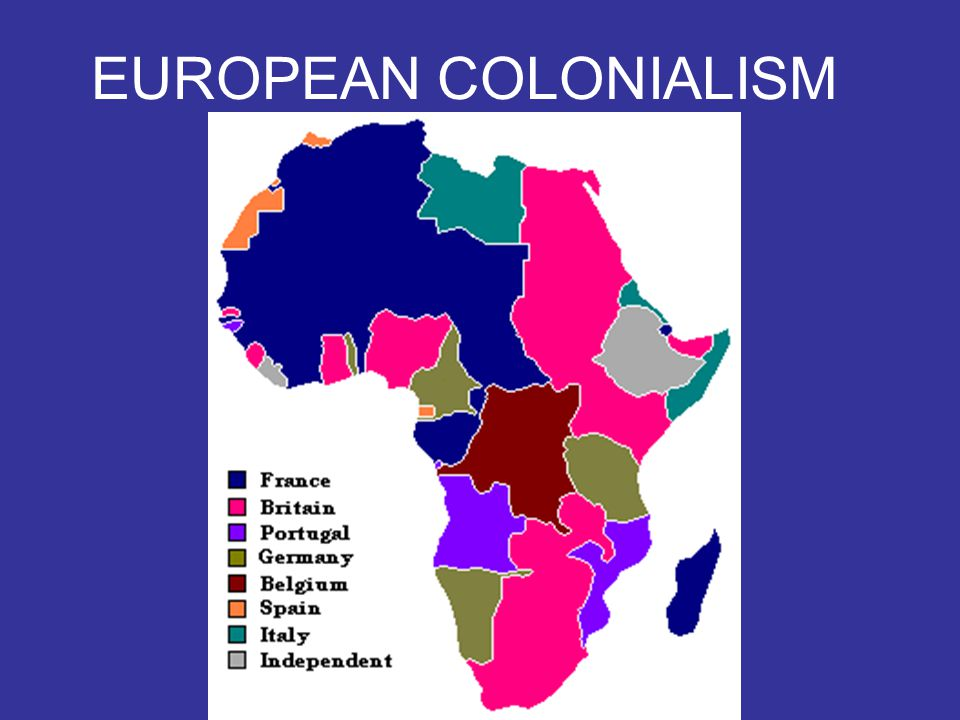 A.THE SCRAMBLE FOR AFRICA 1.European interest began with the SLAVE TRADE (1500s to 1800s) 2.