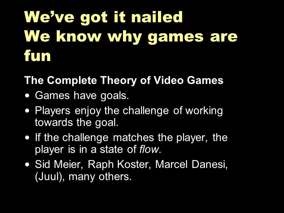 Sorry, the economics of arcade games require enforced goals.